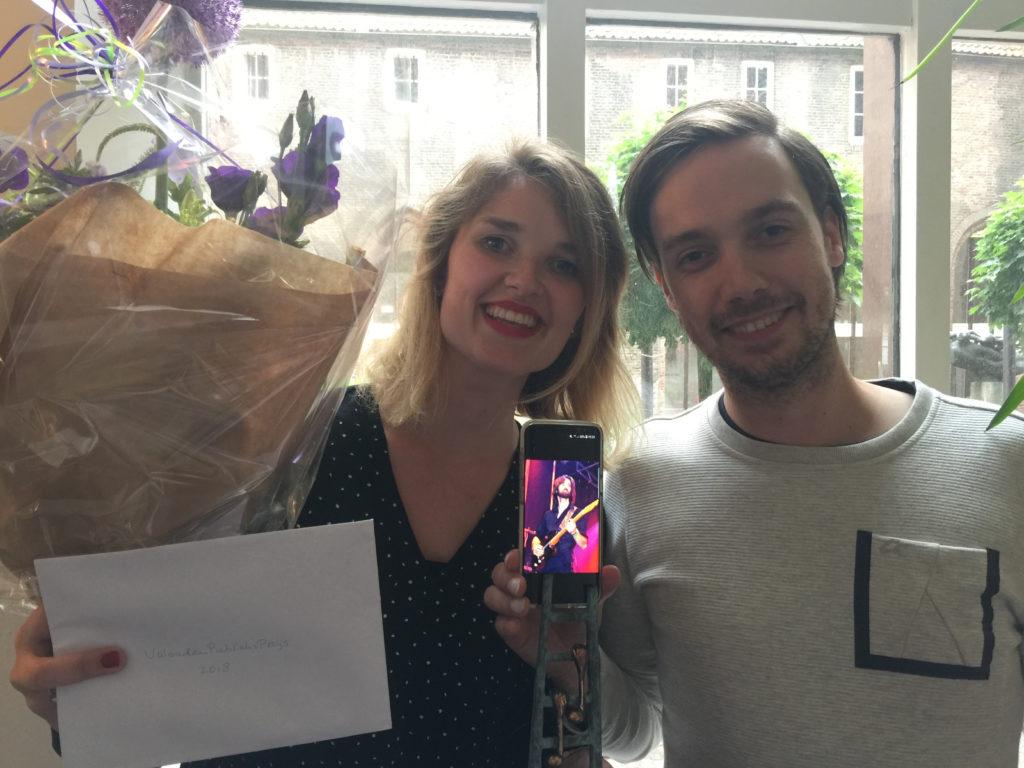 Nathalie Schaap, vriendenprijs ArtEZ 2018 met Jos van Ringen en Mark Schimmel